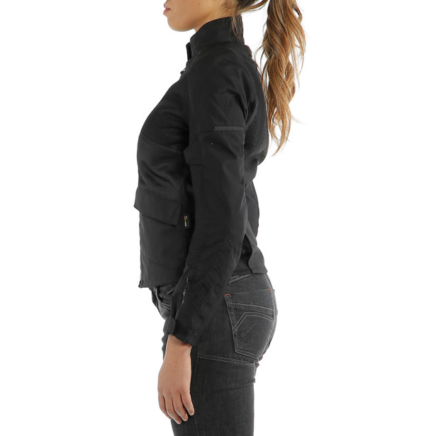 AIR TOURER LADY TEX JACKET BLACK/BLACK/BLACK- Tessuto