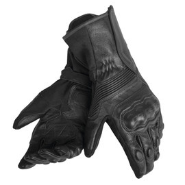 ASSEN GLOVES BLACK/BLACK/BLACK- Leather