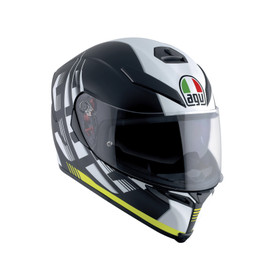 K-5 S E2205 MULTI - DARKSTORM MATT BLACK/YELLOW - Integral-Helm