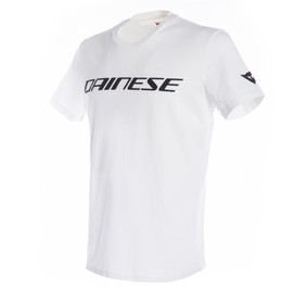 DAINESE T-SHIRT WHITE/BLACK- Camisetas