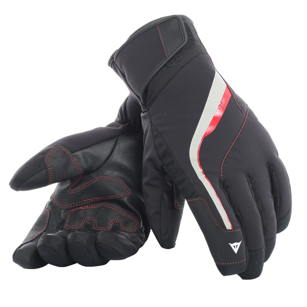 HP2 GLOVES STRETCH-LIMO/HIGH-RISK-RED- Handschuhe
