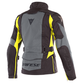 X-TOURER D-DRY LADY JACKET EBONY/BLACK/FLUO-YELLOW- Jackets