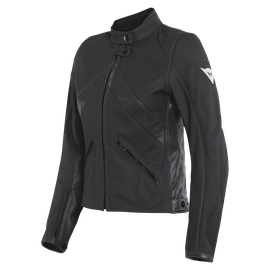 SANTA MONICA LADY LEATHER JACKET BLACK- Women Jackets