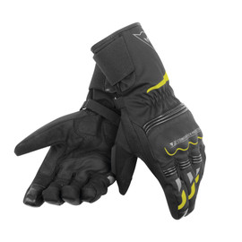 TEMPEST UNISEX D-DRY® LONG GLOVES BLACK/YELLOW-FLUO