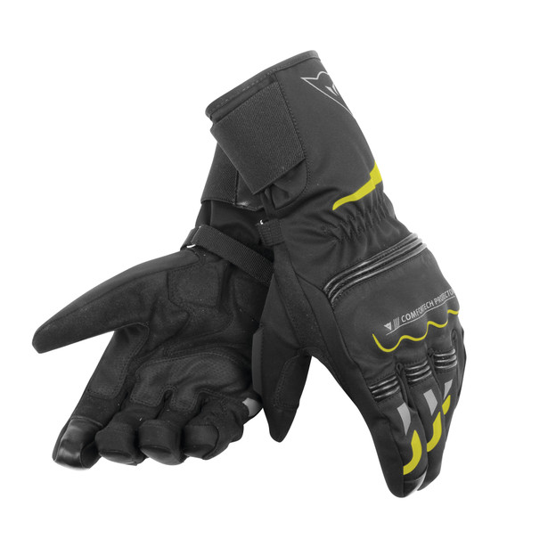 TEMPEST UNISEX D-DRY® LONG GLOVES BLACK/YELLOW-FLUO- D-Dry®