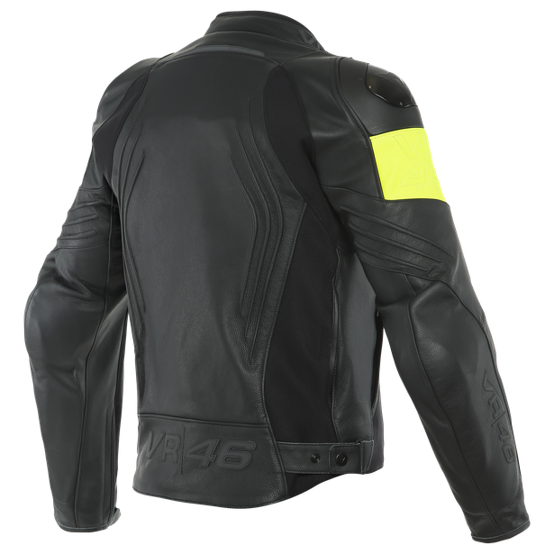 VR46 POLE POSITION LEATHER JACKET - VR46