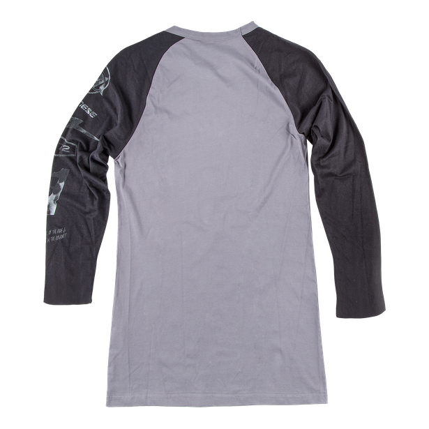 THUNDER72 3/4 T-SHIRT GREY/BLACK- Casual Wear