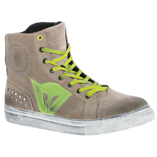 STREET BIKER AIR SAND/GREEN-APPLE- Schuhe