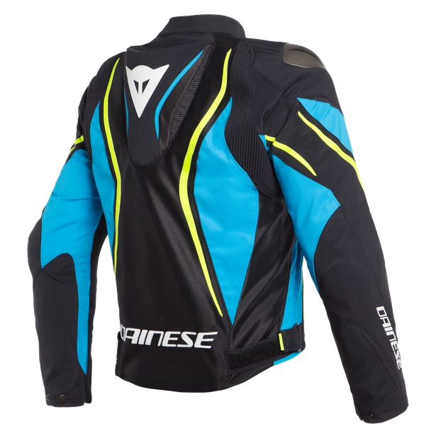 ESTREMA AIR TEX JACKET BLACK/FIRE-BLUE/FLUO-YELLOW- Textil