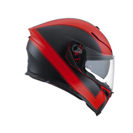 K-5 S E2205 MULTI - ENLACE RED MATT/BLACK - Full-face