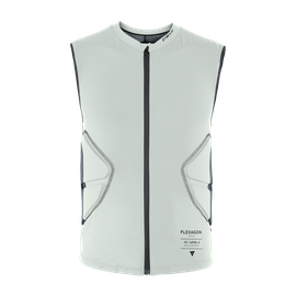 SCARABEO FLEXAGON WAISTCOAT - KID PURITAN-GRAY/STRETCH-LIMO
