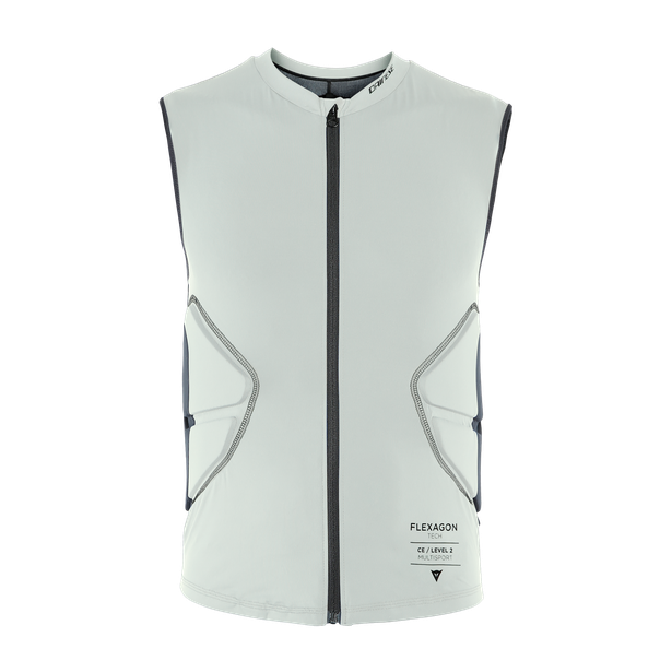 SCARABEO FLEXAGON WAISTCOAT - KID PURITAN-GRAY/STRETCH-LIMO- Bambino