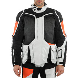 D-EXPLORER 2 GORE-TEX® JACKET GLACIER-GRAY/ORANGE/BLACK- Gore-Tex®