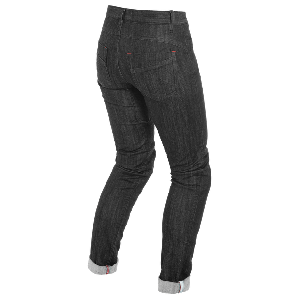 ALBA SLIM LADY JEANS  BLACK-RINSED- Pants