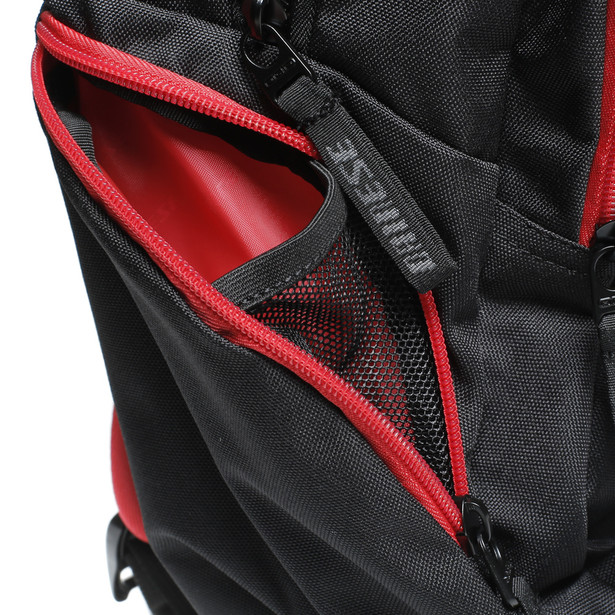 D-QUAD BACKPACK BLACK/RED- Taschen