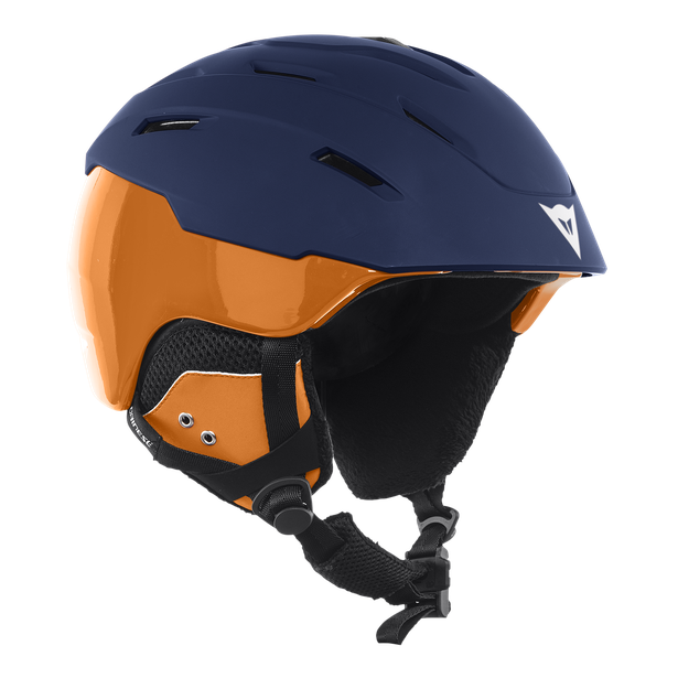 D-BRID BLACK-IRIS/RUSSET-ORANGE- Helmets