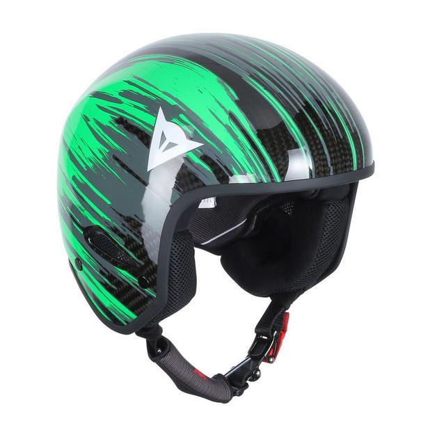 GT CARBON WC HELMET CARBON/FLUO-GREEN- Helmets