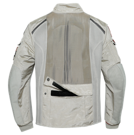 ALGER NOMAD TEX JACKET FEATHER-GRAY- Dunes