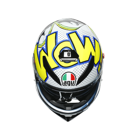 K3 SV E2205 MULTI - BUBBLE BLUE/WH/YELLOW FLUO - K3 SV