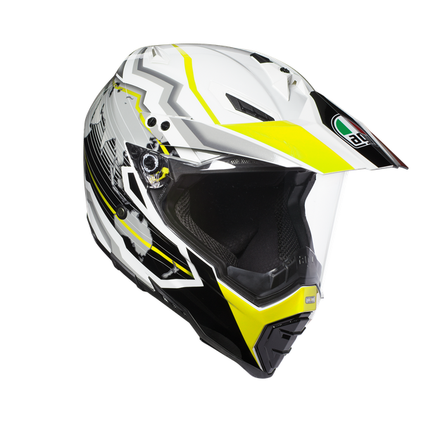 AX-8 DUAL EVO E2205 MULTI - EARTH WHITE/BLACK/YELLOW FL. - Integrale