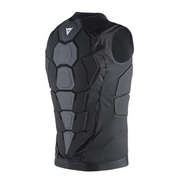 SOFT FLEX HYBRID MAN BLACK- Back