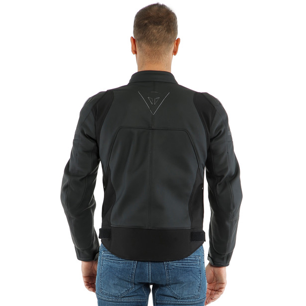 AGILE LEATHER JACKET - Pelle
