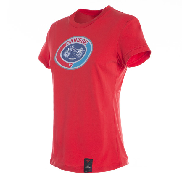 MOTO72 LADY T-SHIRT RED- T-Shirts