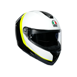 SPORTMODULAR MULTI ECE DOT - RAY CARBON/WHITE/YELLOW FLUO