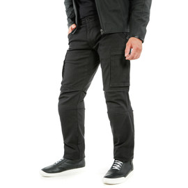 COMBAT TEX PANTS BLACK- Hosen
