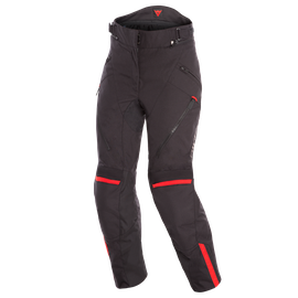 TEMPEST 2 D-DRY LADY PANT BLACK/BLACK/TOUR-RED