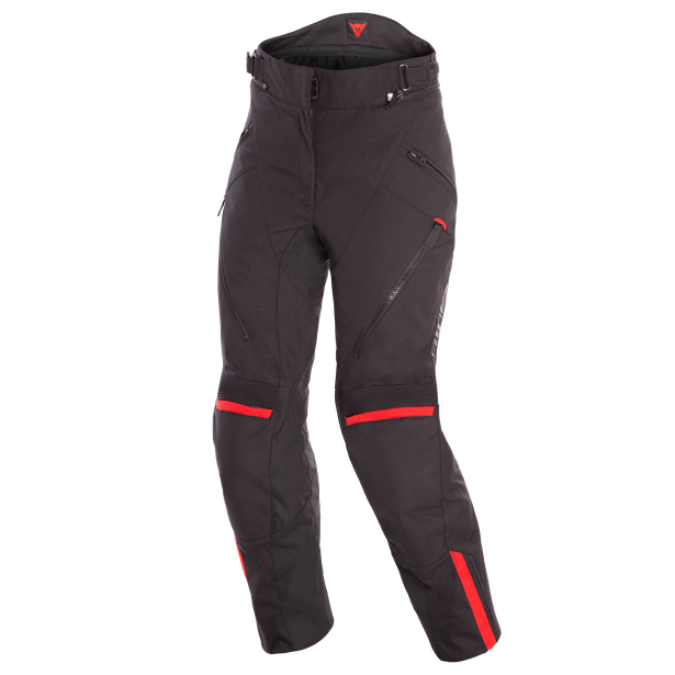 TEMPEST 2 D-DRY LADY PANT BLACK/BLACK/TOUR-RED- Hosen