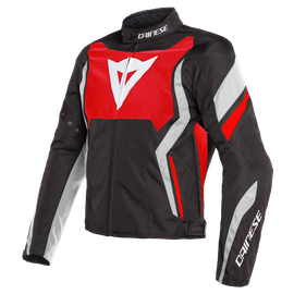 EDGE TEX JACKET LAVA-RED/BLACK/WHITE