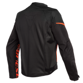 BORA AIR TEX JACKET BLACK/FLUO-RED- Textil