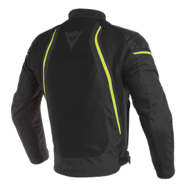 AIR CRONO 2 TEX JACKET BLACK/BLACK/FLUO-YELLOW- Textil