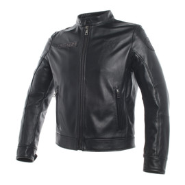 DAINESE LEGACY LEATHER JACKET NERO- undefined