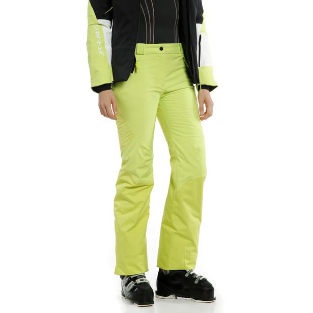 HP SNOWBURST P WMN ACID-LIME/BLACK-TAPS- Women Winter Pants