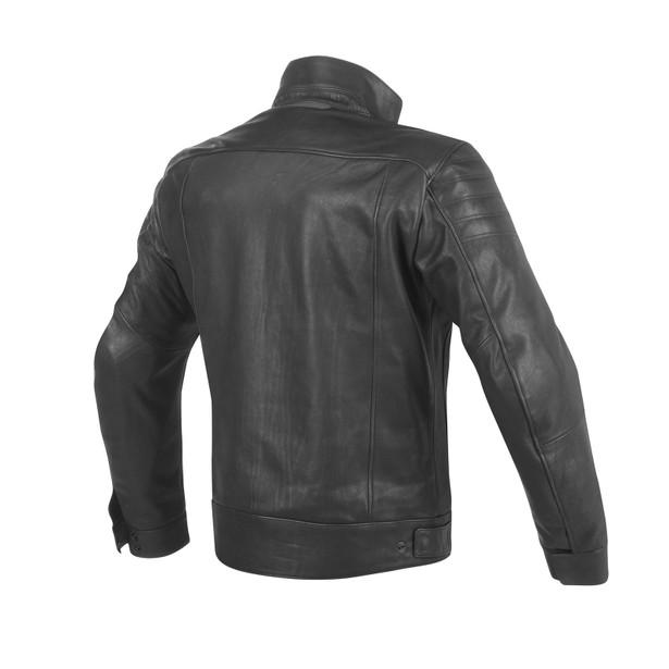 BRYAN LEATHER JACKET BLACK- Leather