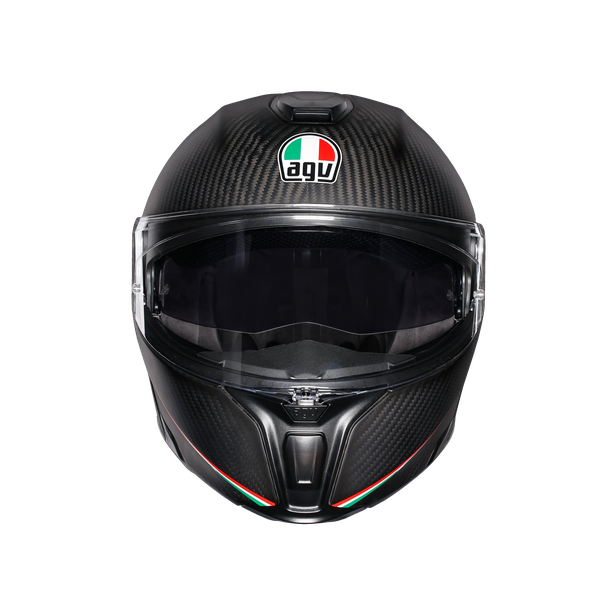 SPORTMODULAR MULTI ECE DOT - TRICOLORE MATT CARBON/ITALY - Sportmodular