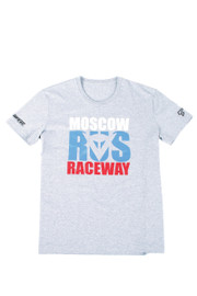 MOSCOW D1 T-SHIRT MELANGE-GRAY