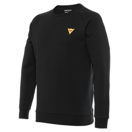 VERTICAL SWEATSHIRT BLACK/ORANGE