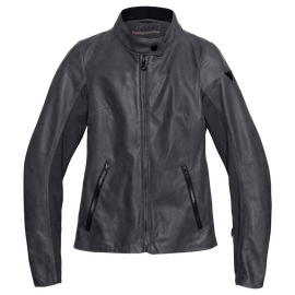 DJANET LADY LEATHER JACKET EBONY- Dunes