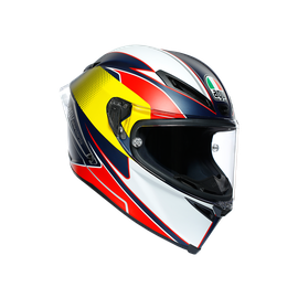 CORSA R MULTI ECE DOT - SUPERSPORT BLUE/RED/YELLOW