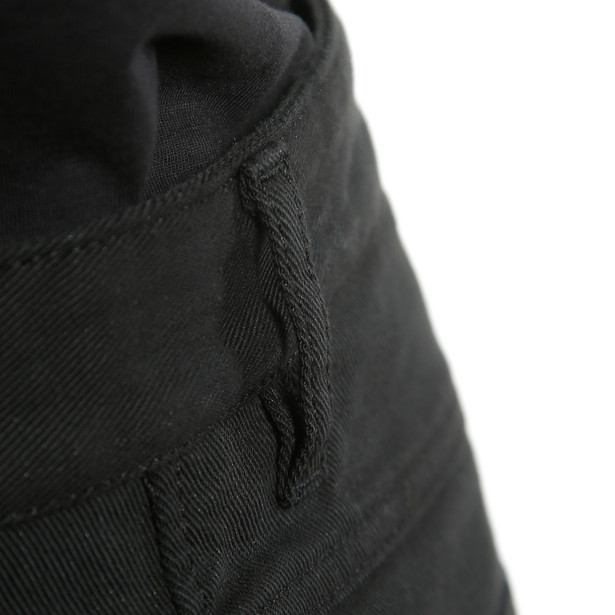 CASUAL REGULAR TEX PANTS BLACK- Pantalones