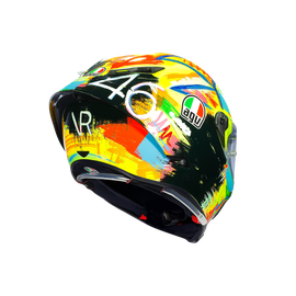 PISTA GP R LIMITED EDITION ECE DOT - ROSSI WINTER TEST 2019 - Valentino Rossi Helmets