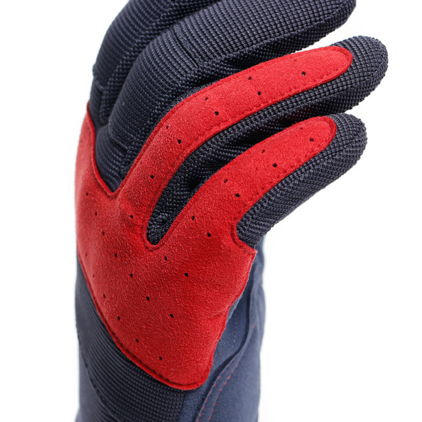 DJADO UNISEX GLOVES EBONY/POMPEIAN-RED- Dunes
