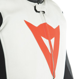 AVRO D-AIR 2PCS SUIT BLACK/WHITE/FLUO-RED- D-air