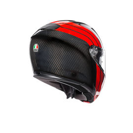SPORTMODULAR MULTI E2205 - STRIPES CARBON/RED - undefined