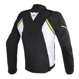 AVRO D2 TEX JACKET BLACK/WHITE/YELLOW-FLUO- Textile