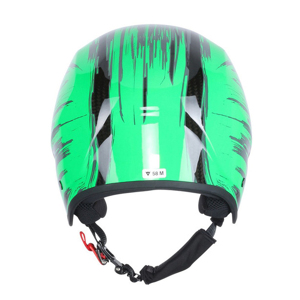 GT CARBON WC HELMET CARBON/FLUO-GREEN- Helme