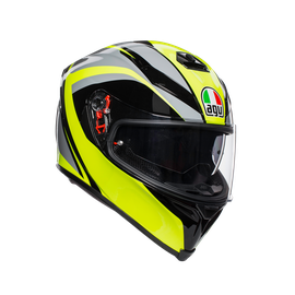 K-5 S E2205 MULTI - TYPHOON BLACK/GREY/YELLOW FLUO - Integrales